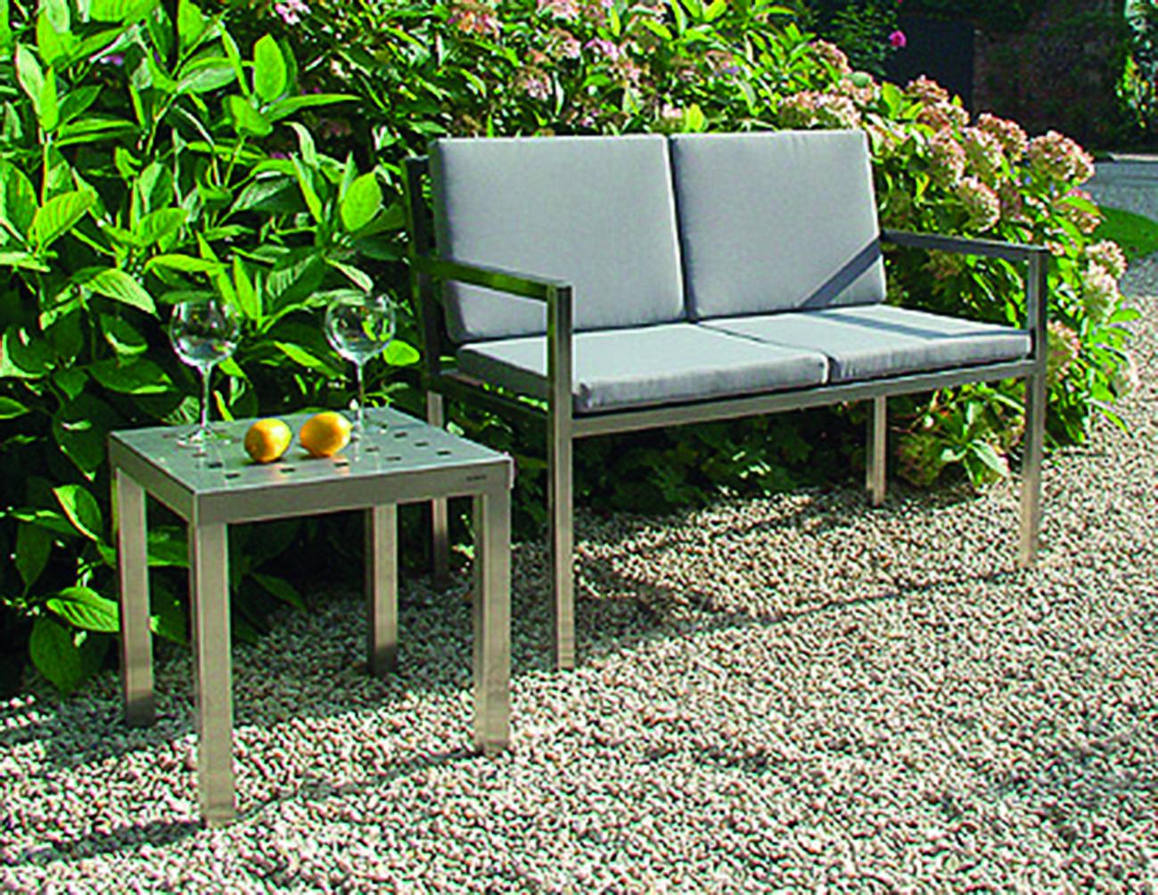 BEISTELLTISCH GELOCHTE PLATTE GM-668 / 45 x 45 cm